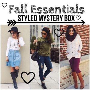 FALL ESSENTIALS Styled Mystery Box
